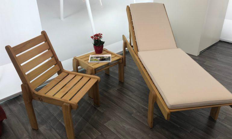 ESCH FL+Stuhl Linea mit Polster